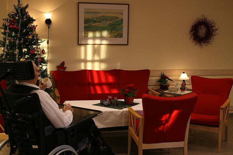 nterior d'una residència de gent gran foto: Thomas Bjørkan CC BY-SA 3.0