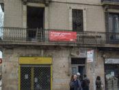 Façana de l'edifici de cohabitatge cooperatiu del carrer Princesa, 49 foto: Tomeu Ferrer