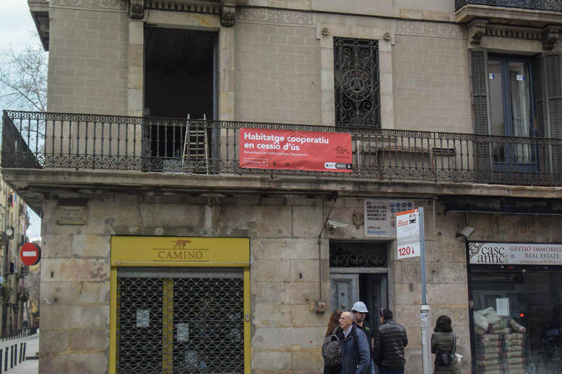 Els inquilins del projecte de 'cohabitatge' del carrer Princesa, 49 ocuparan els seus pisos l'abril vinent