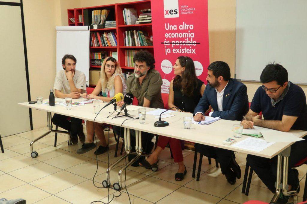 Presentació del Forum Mundial de les economies transformadores de Barcelona