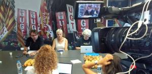 UGT vincula la normalització política a Catalunya al cessament de la presó preventiva dels detinguts