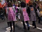 Les dones del sector serveis cobren els salaris més baixos foto: Tomeu Ferrer