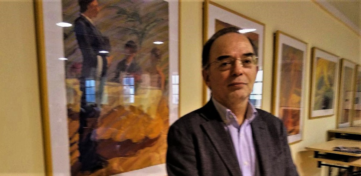 Antonio González, Economistas Frente a la Crisis foto: Tomeu Ferrer