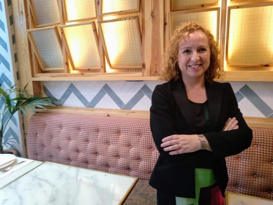 Sara Berbel, directora general de Barcelona Activa aposta per l'economia social foto: Tomeu Ferrer