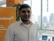 Mauro Marrero, a la seu de Pasiona, situada al districte 22@ | Foto: VS
